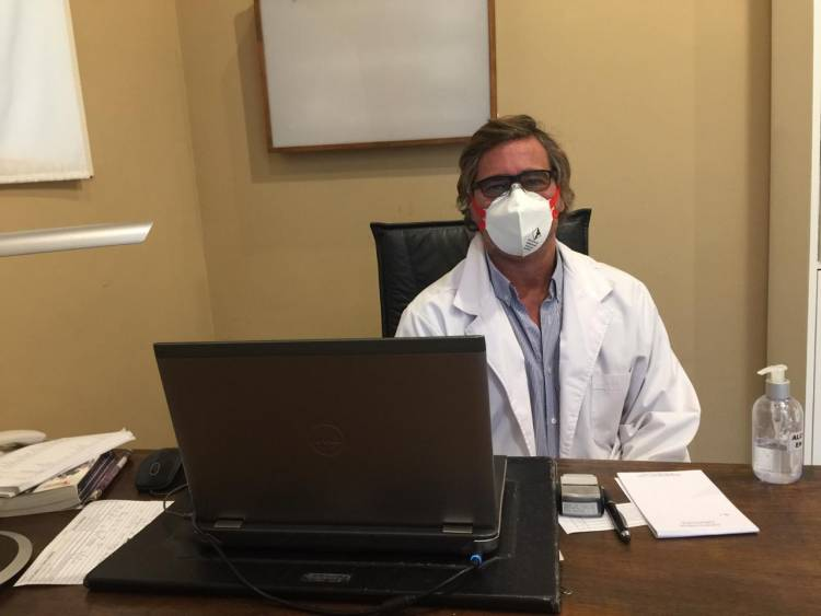 Dr Germán Pace especialista en pie  y tobillo COVID-19