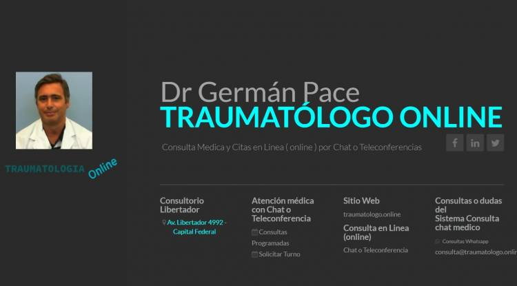Traumatologo online