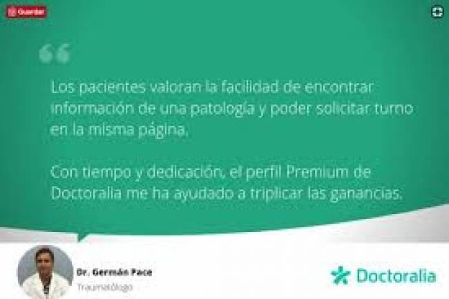 Dr German Pace entrevista Doctoralia