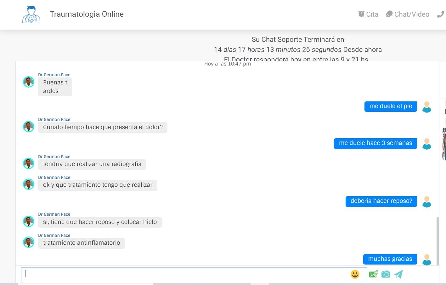 Seguimiento por Chat Online