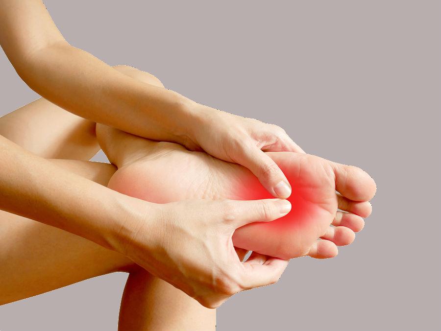 Inspeccionando tus pies